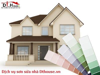 Dịch Vụ Sơn Sửa Nhà