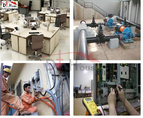 Sửa Chữa Bảo Trì Hệ Thống Điện Nước Văn Phòng