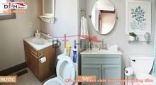 Sửa Chữa Chữa Toilet Chật Hẹp Thành Phòng Tắm Thông Thoáng