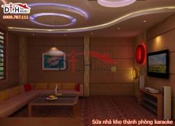 Sửa nhà kho thành phòng karaoke tuyệt đẹp