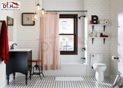 Trang Trí Nội Thất Phù Hợp Cho Không Gian Phòng Tắm Nhỏ