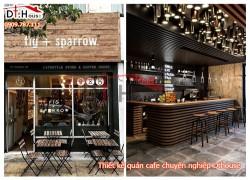 Thiết kế thi công sửa chữa quán cafe trọn gói