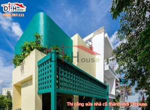 Thi công sửa chữa ngôi nhà trong mơ đầy nghệ thuật và ấn tượng