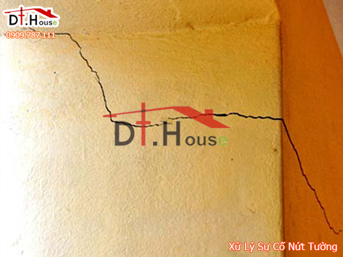 Cải Tạo Nhà Có Vết Nứt Trên Tường