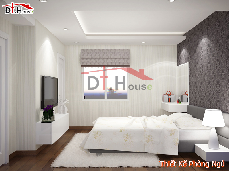 Thiết Kế Phòng Ngủ Chung Cư Nhà Chị Tuyết – Hà Nội